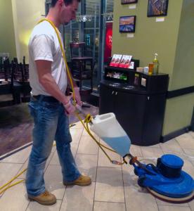 Floor polishing by UmbrellaOne