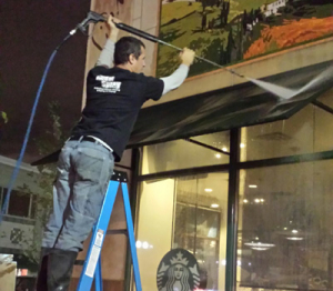 Awning Cleaning - UmbrellaOne