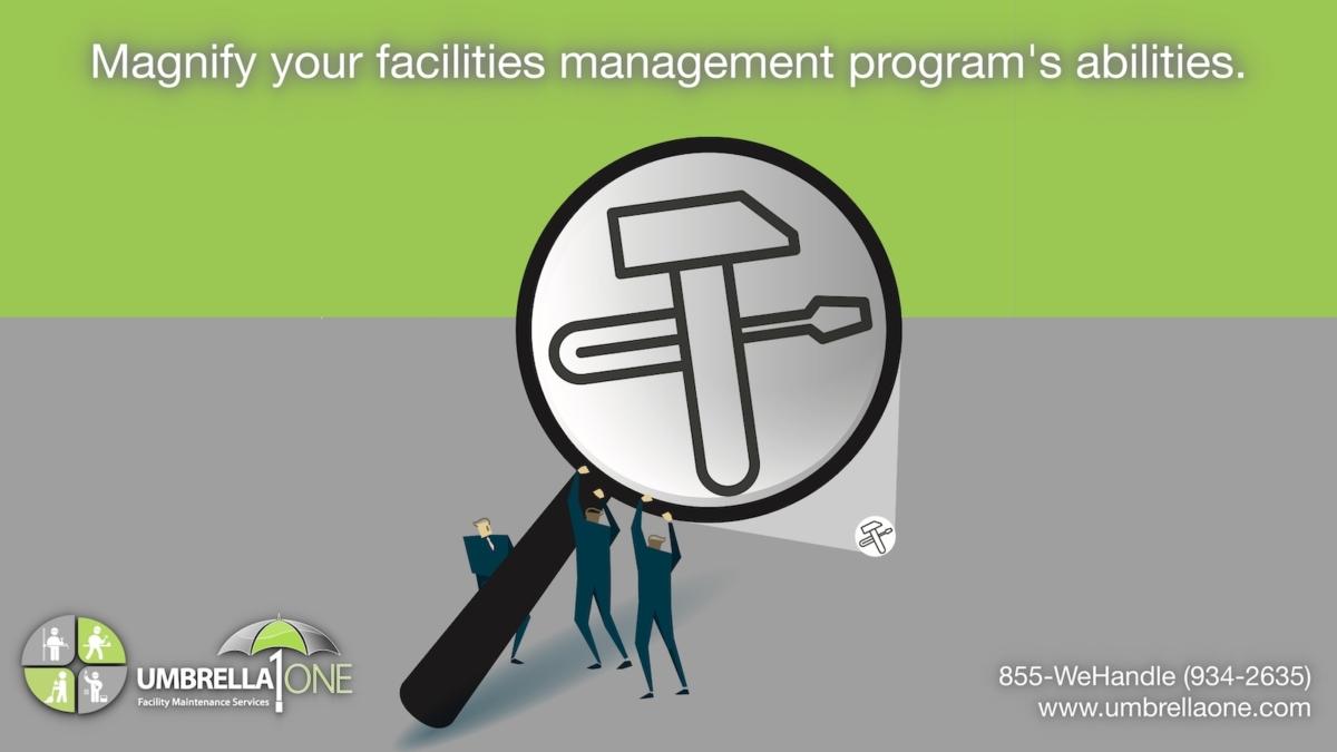 "caption, ""magnify your facilities maintenance program"""