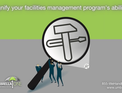 Why would a facility manager outsource management of R&M?