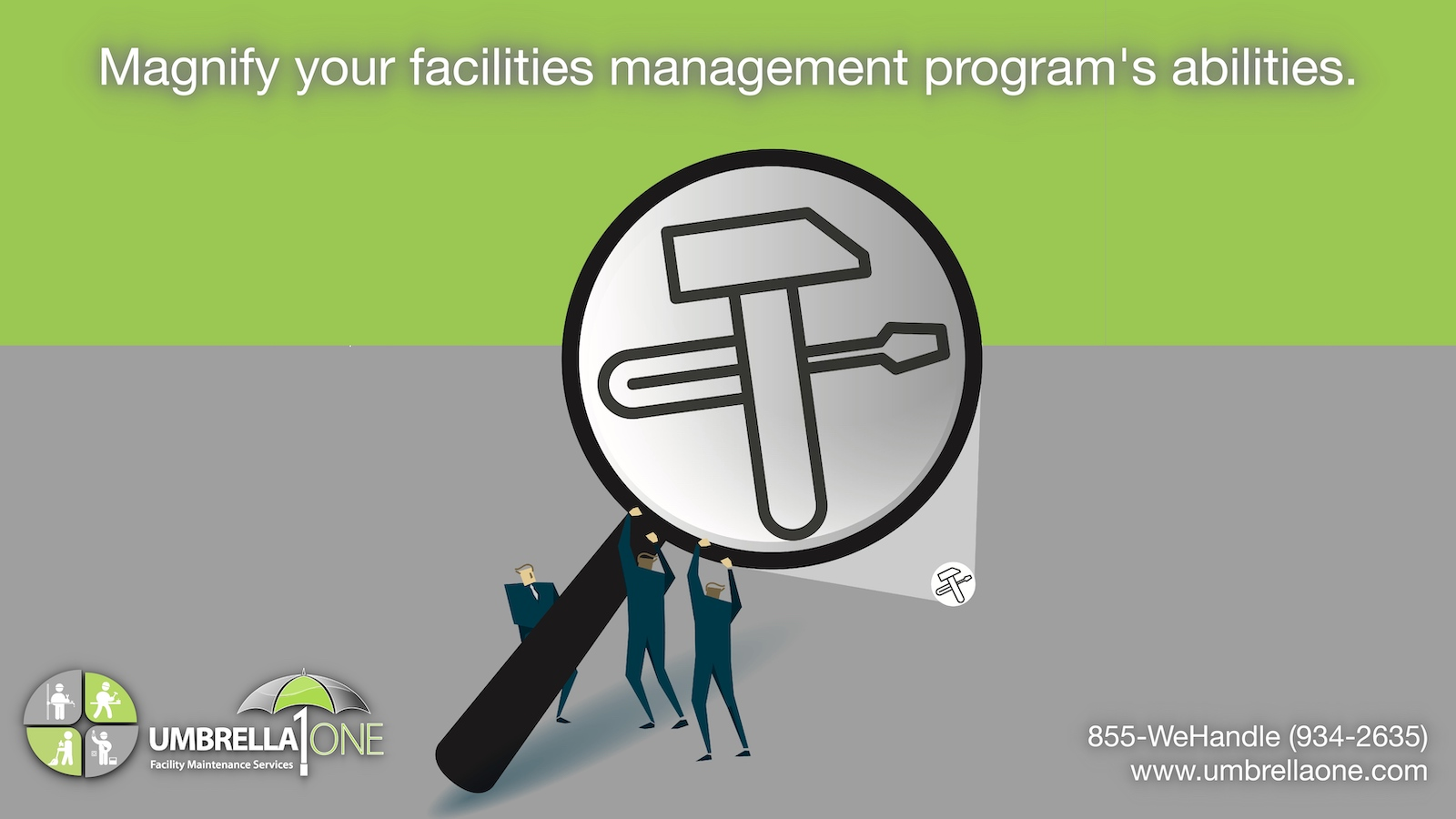 "caption, ""magnify your facilities maintenance program"""