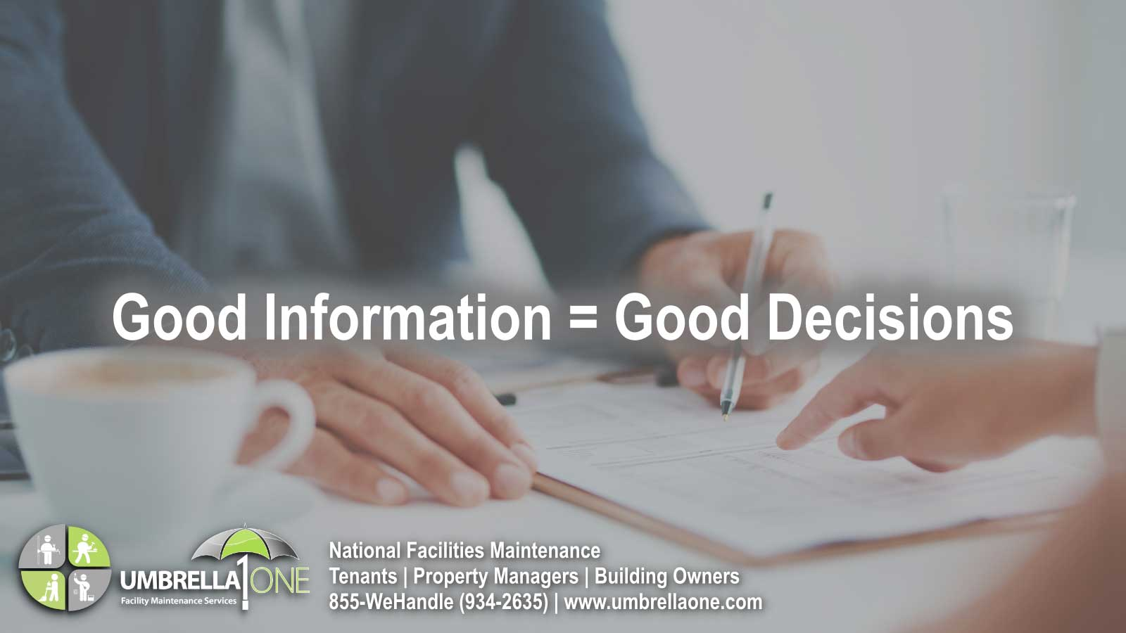 caption: good information = good decisions