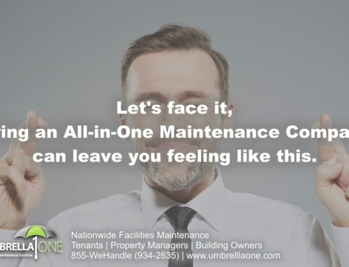 In facilities maintenance, we see value in always meaning something. Just not everything.